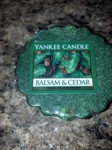Balsam and Cedar