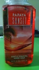 Papaya Sunset 1